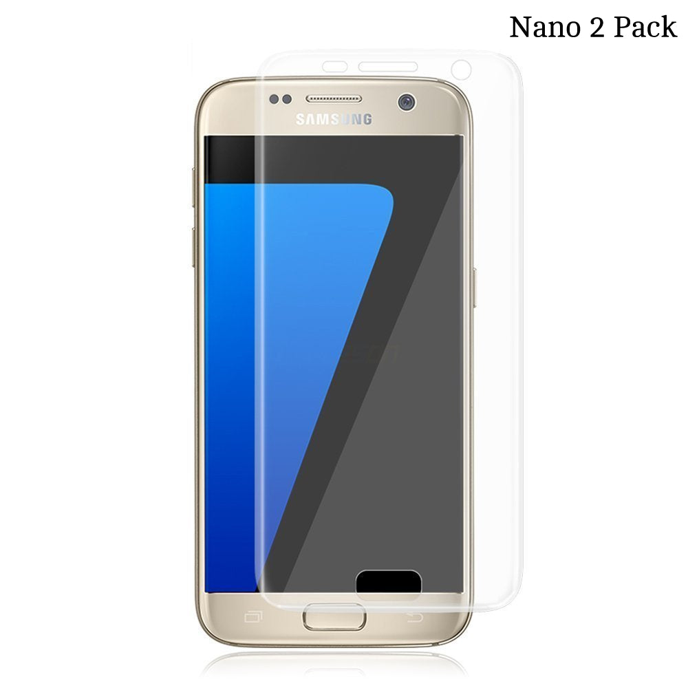 Nano film screen protector for Samsung Galaxy S7 Edge - 2 pack - screenhug