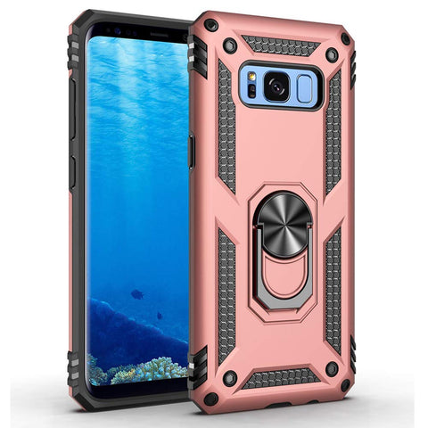 Tough Ring Stand case for Samsung Galaxy S8 - Rose