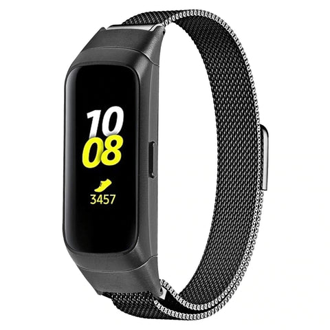 Milanese Strap for Samsung Galaxy Fit SM-R370 - Black