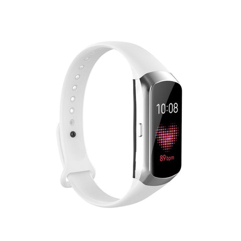 Rubber Strap for Samsung Galaxy Fit SM-R370- White