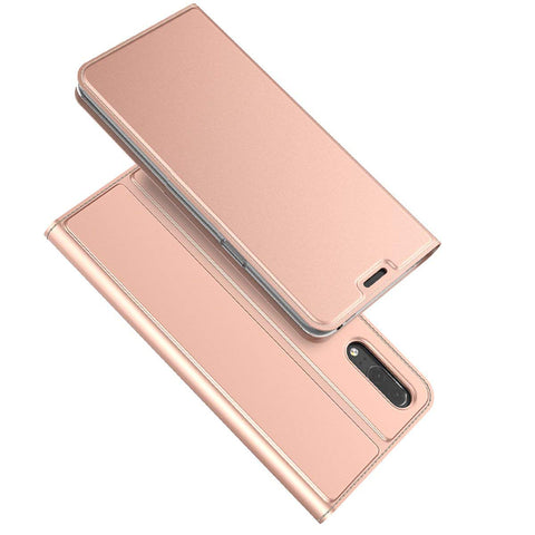 Huawei P20 Slim Wallet case - Rose Gold