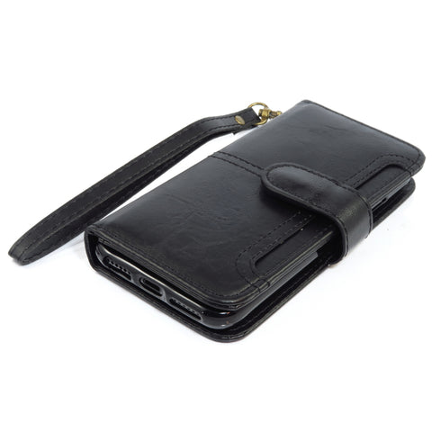 Front Card Detachable Wallet case for iPhone 6/6s - Black