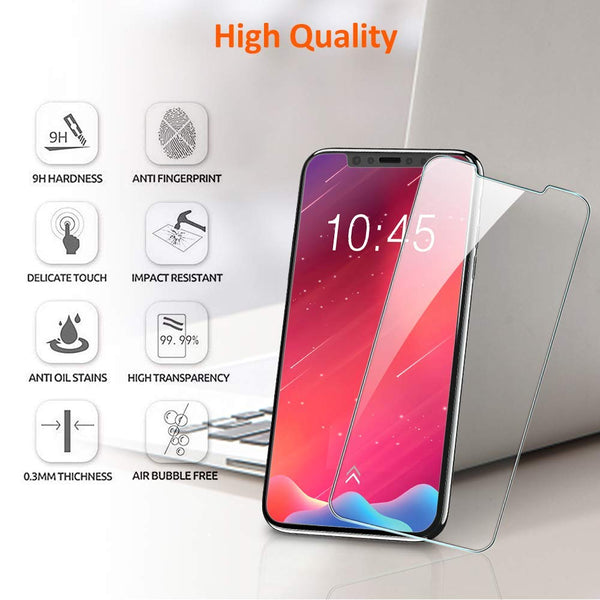 iPhone 11 Glass screen protector case friendly - Clear - screenhug