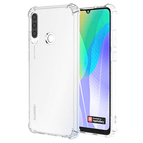 Bumper Gel Case for Huawei Y6P - Clear