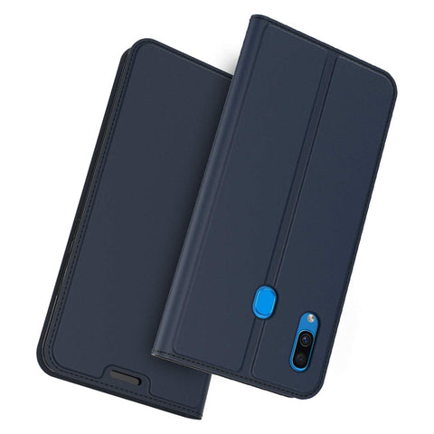 Slim one card case for Samsung Galaxy A20/A30 - Blue