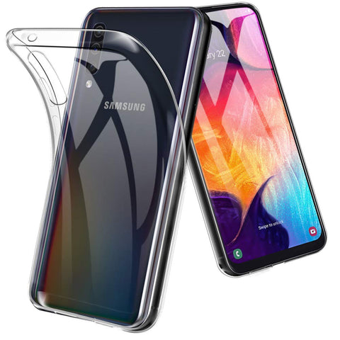 Clear Gel case for Samsung Galaxy A50
