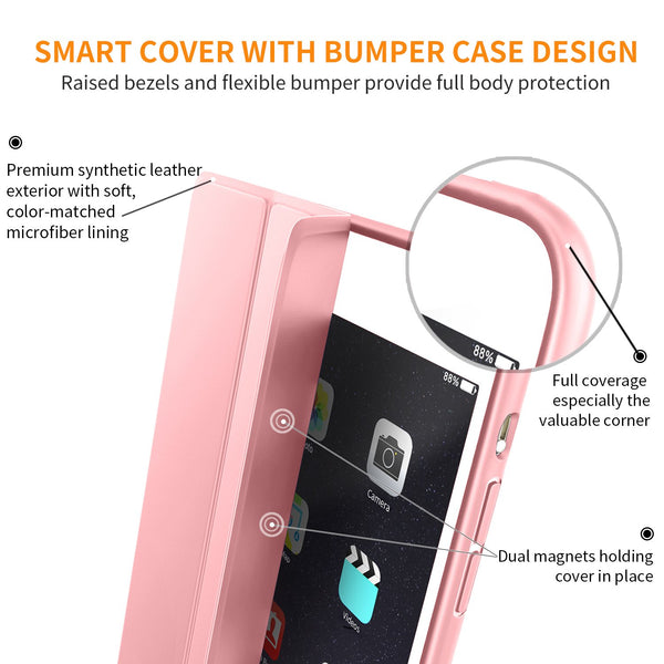 Slim Smart case for iPad Air 3 2019 - Rose Gold - screenhug