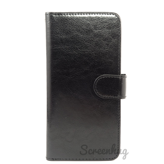 Detachable Big Wallet case for Huawei P30 - Black - screenhug