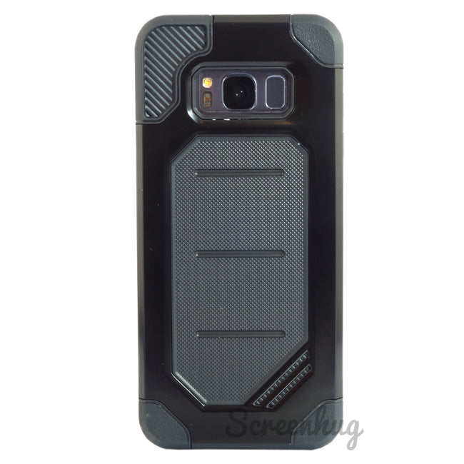 Rugged cover for Samsung Galaxy S8 - Black - screenhug
