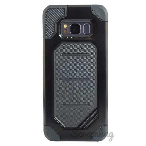 Rugged cover for Samsung Galaxy S8 - Black