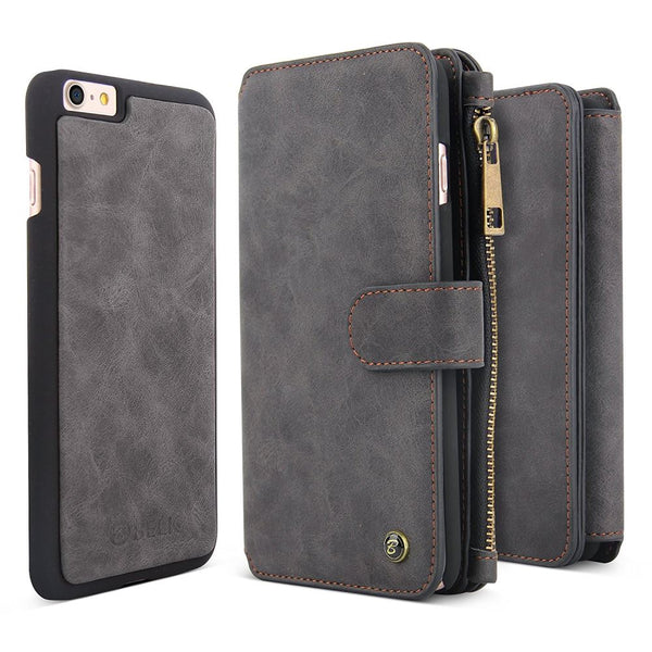 Coin wallet case for iPhone 7/8 - Black - screenhug