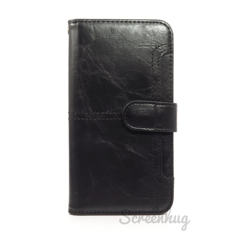 Front Card detachable wallet for iPhone XS Max - Black