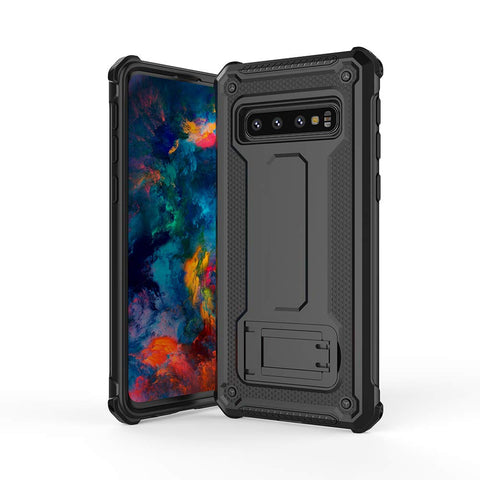 Tough Stand Case for Samsung Galaxy S10 - Black