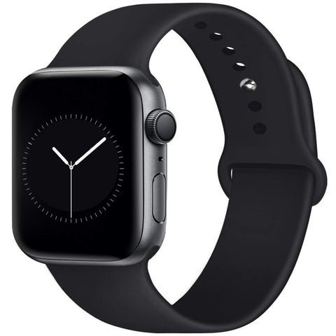 Rubber Strap for Apple Watch 42/44mm - Black