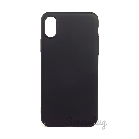 Thin shell case for iPhone X - Black