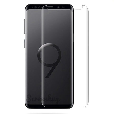 Samsung Galaxy S9 Glass Screen Protector - Case Clear
