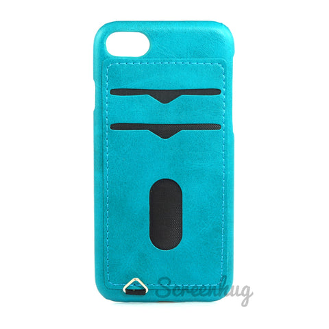 Back card case for iPhone 7/8 - Blue