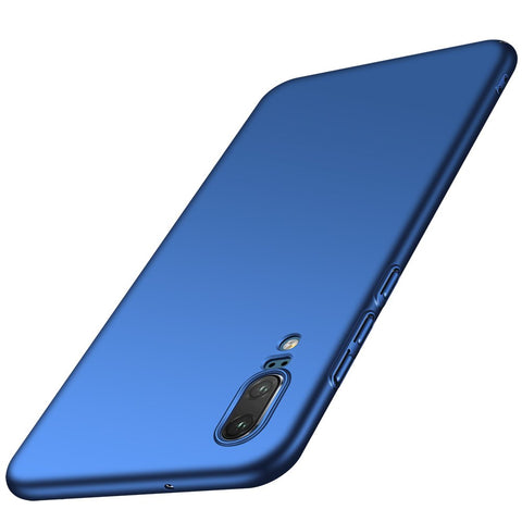 Huawei P20 Thin Shell case - Blue