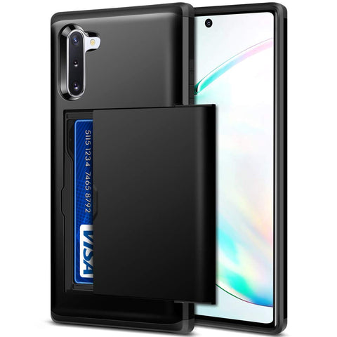 Tough Card case for Samsung Galaxy Note 10 - Black