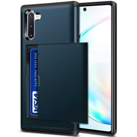 Tough Card case for Samsung Galaxy Note 10 - Blue