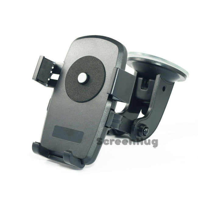 Push Clamb Car Holder for Samsung and iPhone - screenhug