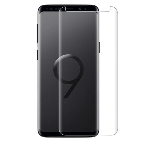 Samsung Galaxy S9 Plus Glass Screen Protector - Case Clear