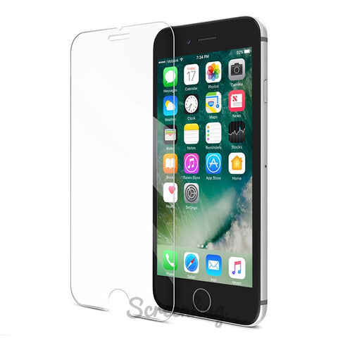iPhone 7 Curved Glass Screen Protector - Clear