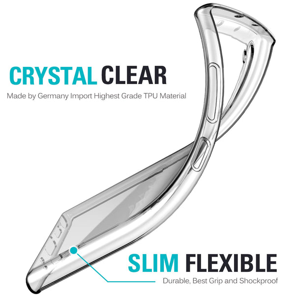 Clear gel case for Samsung Galaxy Note 10 - screenhug