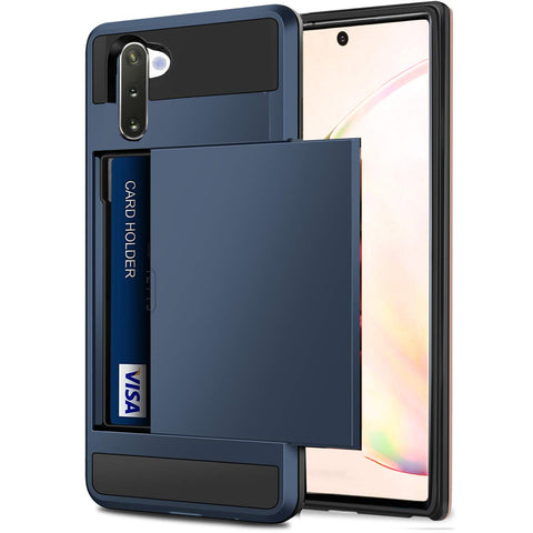 Card slider for Samsung Galaxy Note 10 Plus - Blue