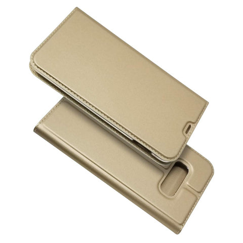 Slim card case for Samsung Galaxy S10e - Gold