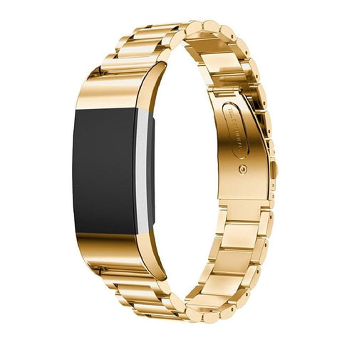 Metal Strap for Fitbit Charge 2 - Gold