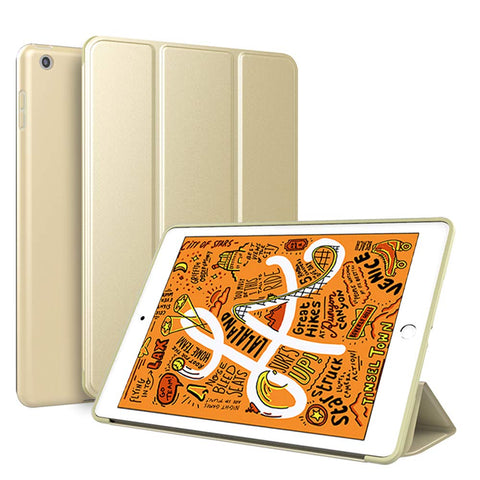 Smart Cover case for iPad mini 2019 - Gold