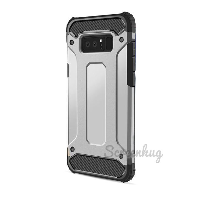 Tough cover for Samsung Galaxy Note 8 - Silver - screenhug