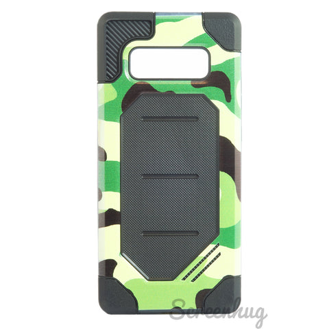 Rugged case for Samsung Galaxy Note 8 - Camo Green