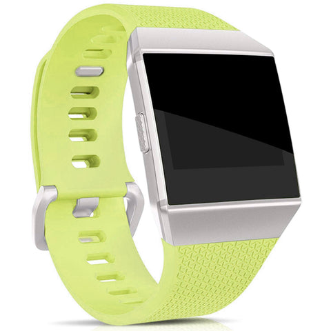 Rubber Strap for Fitbit Ionic - Green