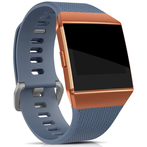 Rubber Strap for Fitbit Ionic - Grey