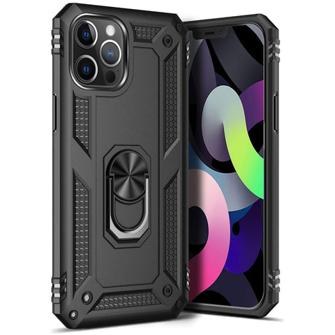 Tough Ring case for iPhone 12 Pro Max - Black