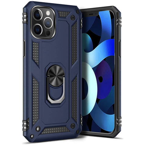Tough Ring case for iPhone 12 Pro Max - Blue