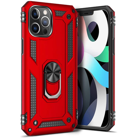 Tough Ring case for iPhone 12 Pro Max - Red