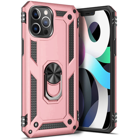 Tough Ring case for iPhone 12 Pro Max - Rose
