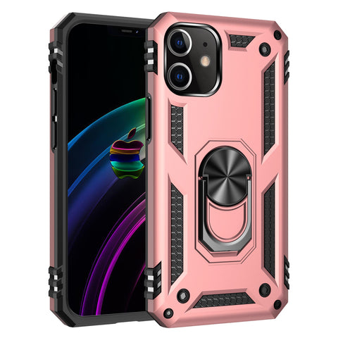 Tough Ring case for iPhone 12 Mini - Rose