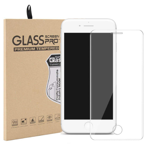 iPhone 7/8 Plus Curved Glass Screen Protector - Clear