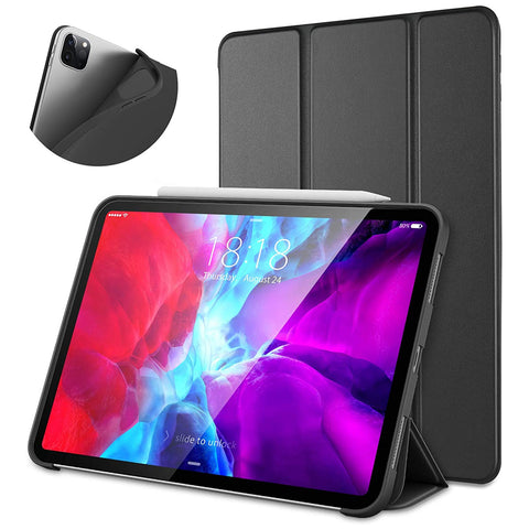 "Smart Cover Case for iPad Pro 11"" 2018 / 2020 - Black"