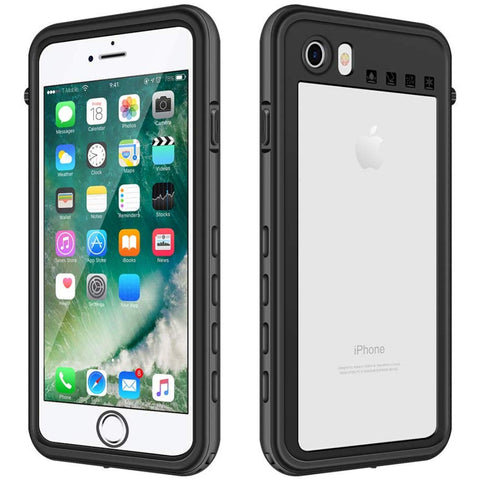 Shellbox Waterproof case for iPhone 7/8/SE2 - Black
