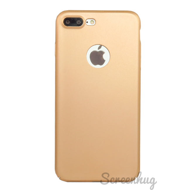 Slim Shell Case for iPhone 7/8 Plus - Gold - screenhug