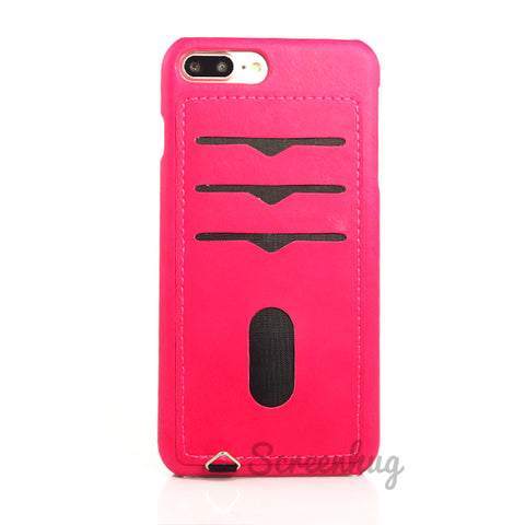 Back card case for iPhone 7/8 Plus - Pink