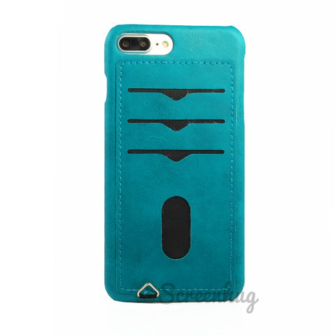 Back card case for iPhone 7/8 Plus - Aqua