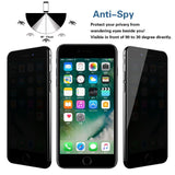 iPhone 6/6S Glass Screen Protector - Privacy - screenhug