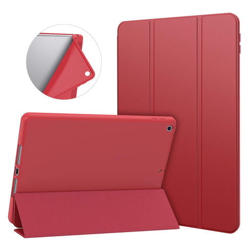 Smart cover case for iPad 10.2 2019 - Red