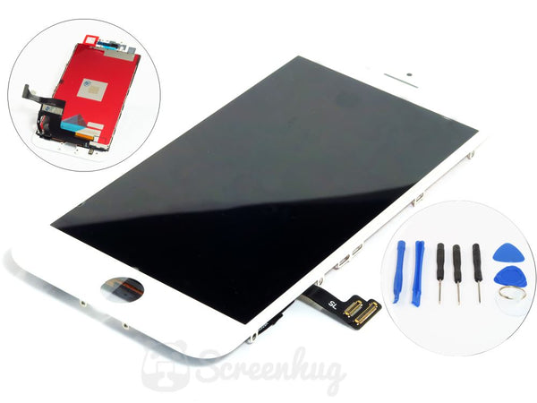 iPhone 7 Screen LCD Front - White - screenhug